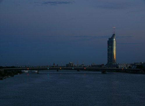 Donauinsel Views at Sunset | Photo of the Day