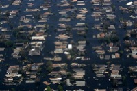 I don't think anybody anticipated the breach of the levees – G.W. Bush