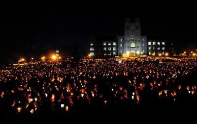 virginia tech candlelight vigil