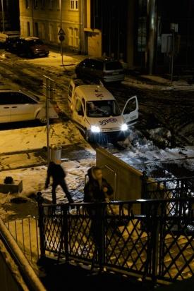 Vienna snow brigade
