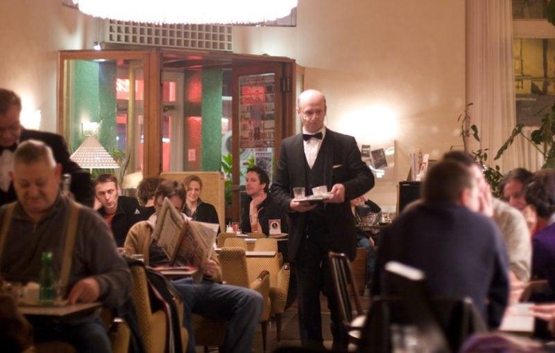 A Winter Evening in Café Pruckel