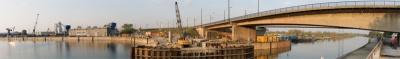 wien docks crane