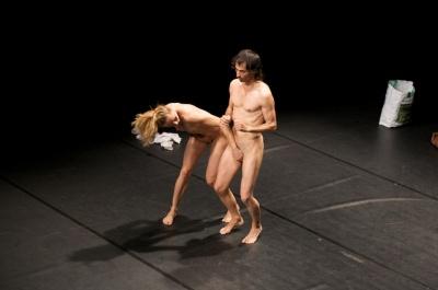 naked Delgado and Fuchs © Alec Kinnear