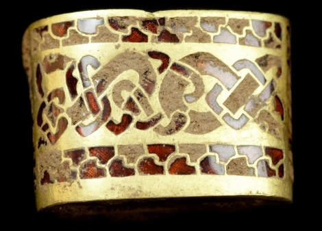 staffordshire hoard treasure