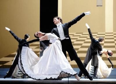 Chauvre Souris corps de ballet