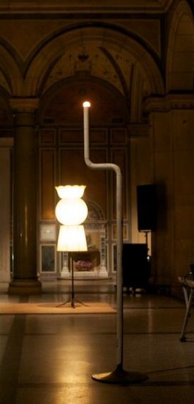 Herman Fink two lamps at MAK nite