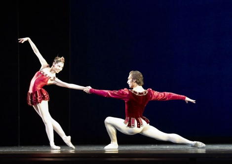 Balanchine Rubies Maria Yakovleva Mihail Sosnovschi