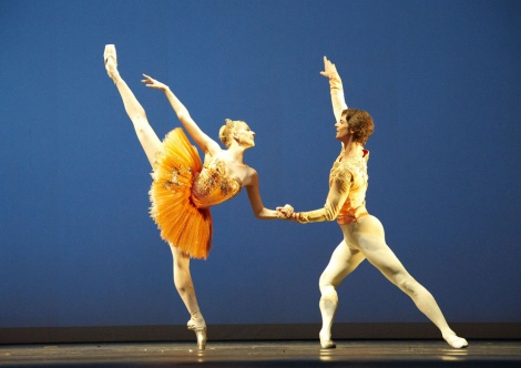 Balanchine Thema und Variationen Olga Esina Vladimir Shishov