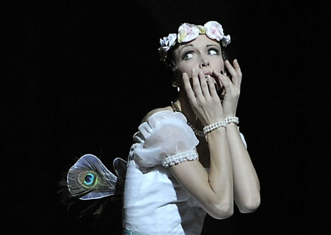 Irina Tsymbal as La Sylphide
