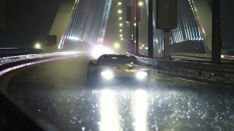 Love Jakub Kroner Bratislava car chase in the rain Apollo Bridge