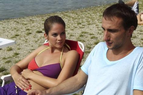 Ivica Slavikova probing uncertain sexuality of Lubo Burkovy