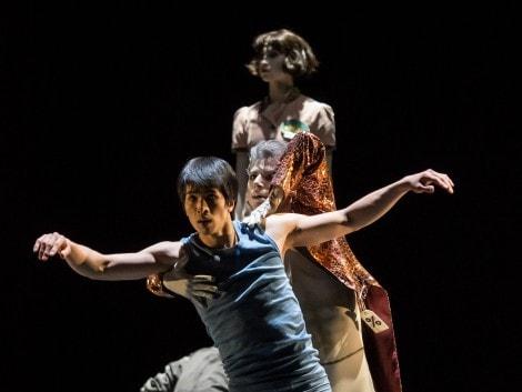 "Masayu Kimoto, Davide Dato in ""Der Feuervogel"""