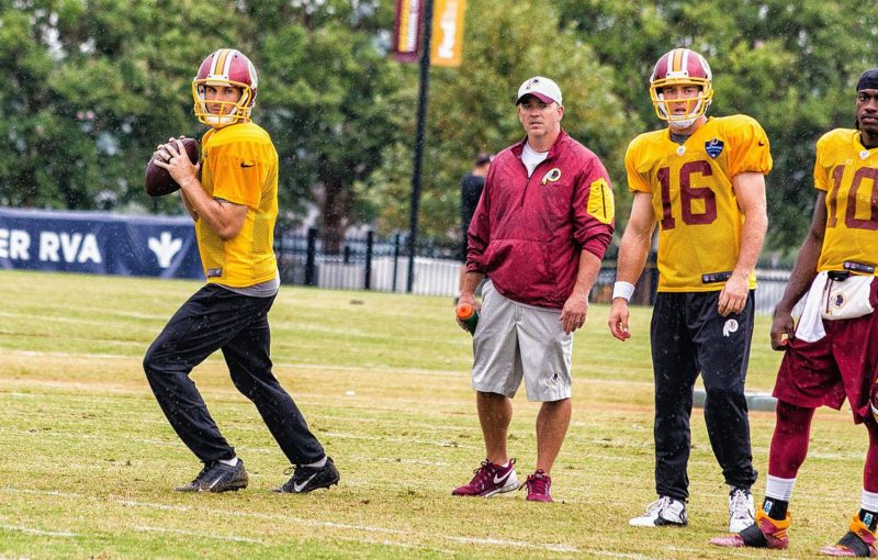 Kirk Cousins (non) contract: treat 'em mean, keep 'em keen