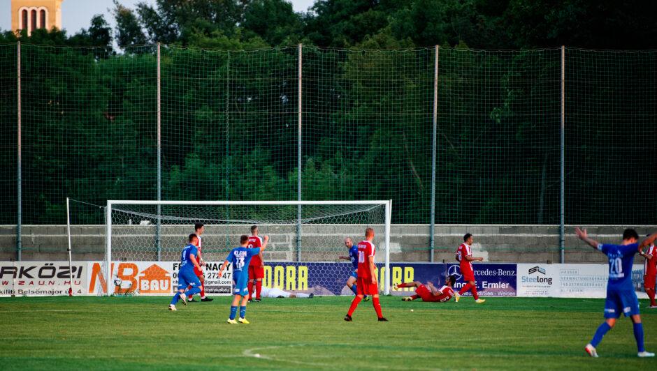 Patrik Sabo puts Andau ahead 2-1