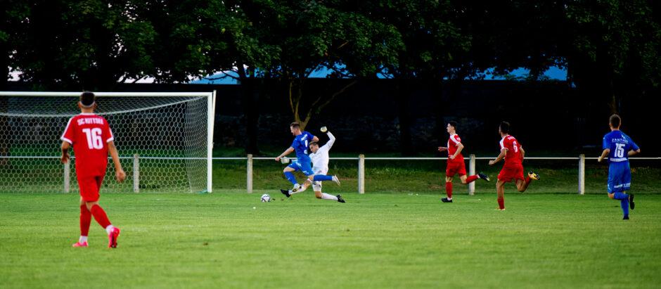 Cambal puts Andau two goals ahead