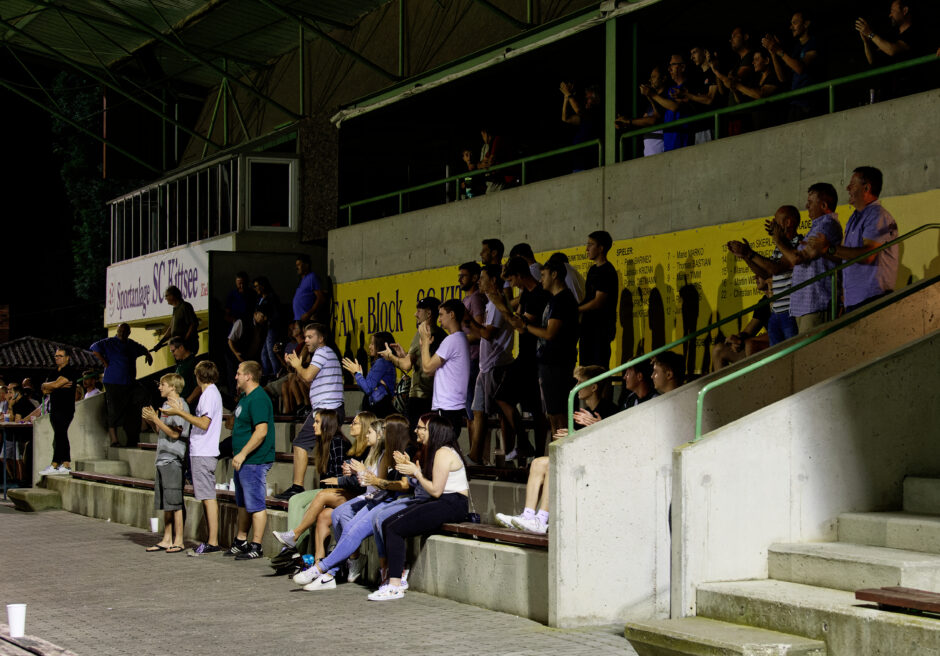 Many Andau fans made the long trip up to Kittsee