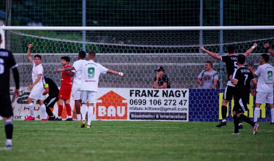 Bastian runs ball straight into net for a goal