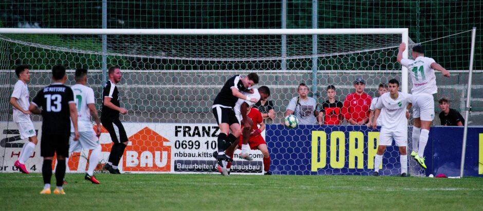 Lukas Raithofer chance on goal