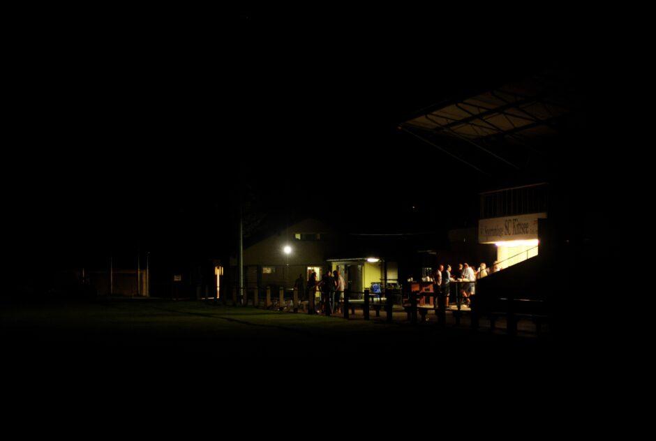 Evening atmosphere SC Kittsee