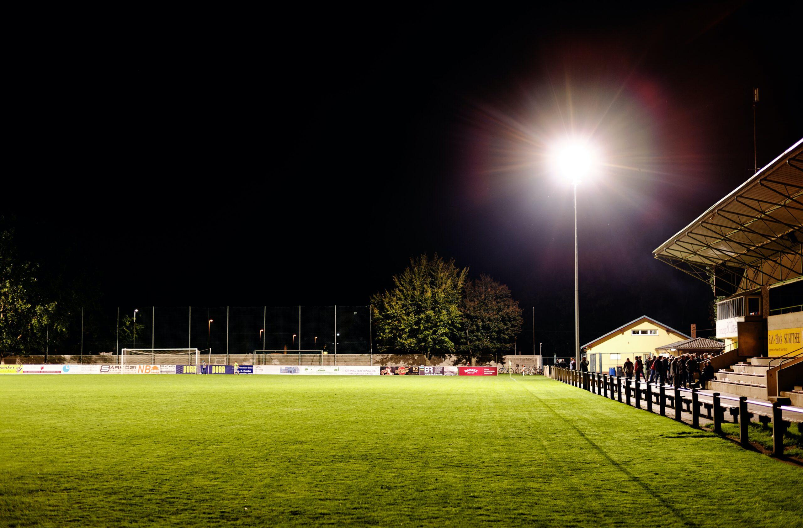Post-match FC Kittsee Stadium